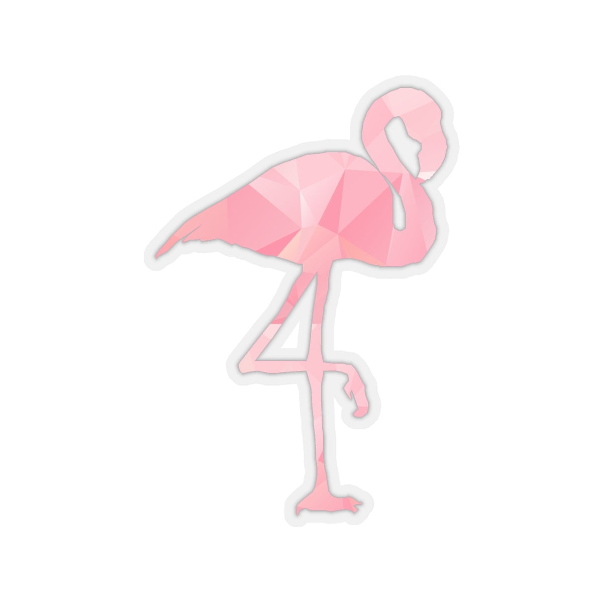 Flamingo Sticker, Flamingo Decal, Laptop Stickers, Water Bottle Stickers, Pink Flamingo Sticker, Planner Sticker, Pink Flamingo Vinyl Decal - jewelry-by-meesh