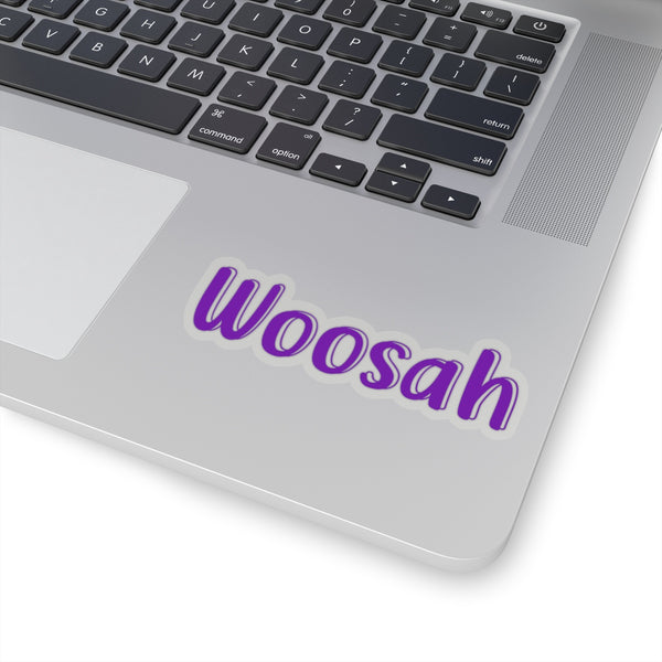 Woosah Sticker, Laptop Sticker, Die Cut Sticker, Journal Sticker, Woosah Decal, Car Decal - jewelry-by-meesh