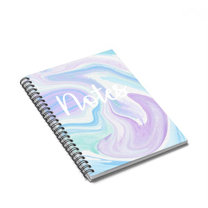 Spiral Notebook - Ruled Line - jewelry-by-meesh