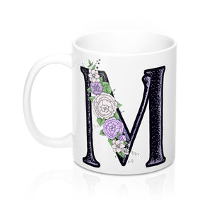 Letter Mug, Letter Coffee Cup, Monogram Letter Cup, Coffee Cup, Teacup, 11oz Coffee Cup, 11oz Teacup, 11oz Mug - jewelry-by-meesh