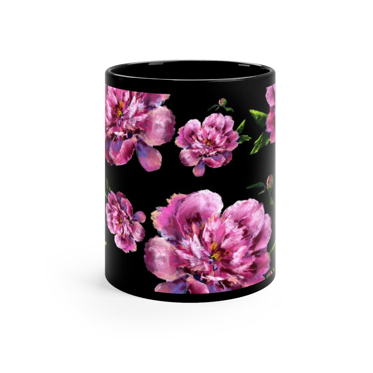 Floral  Mug - 11oz - jewelry-by-meesh