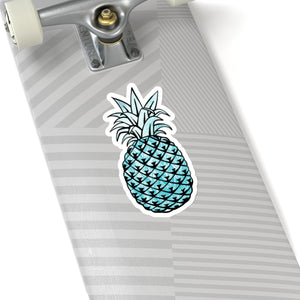 Pineapple Sticker, Pineapple Decal, Laptop Sticker, Water Bottle Sticker, Journal Sticker, Car Decal, Laptop Decal, Pineapple Laptop Sticker - jewelry-by-meesh