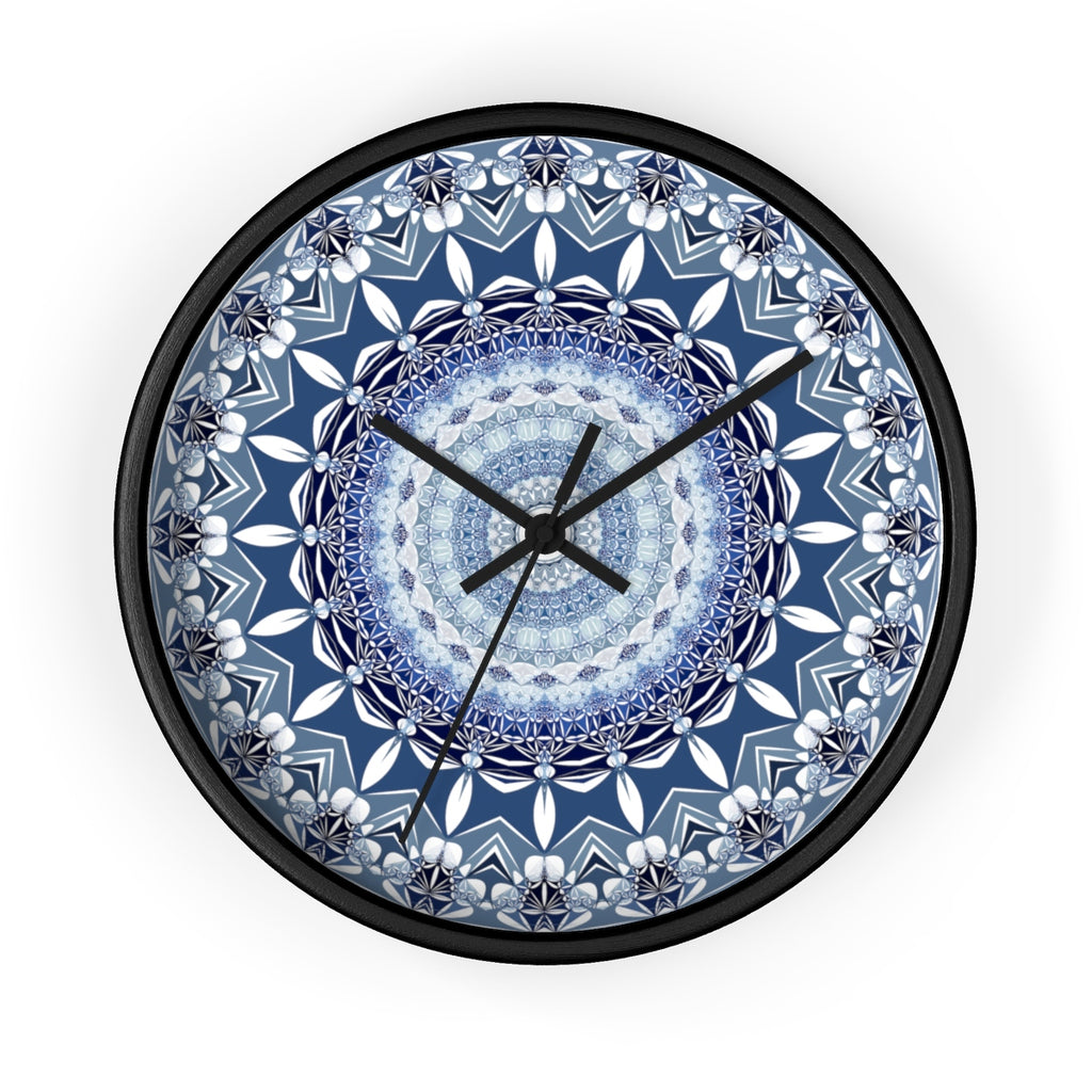 Mandala Abstract Geometric Modern Wall clock - jewelry-by-meesh