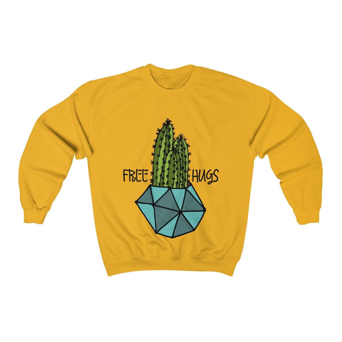 Cactus Sweatshirt, Funny Cactus Shirt, Sweatshirt, Crewneck Sweatshifrt, Funny Sweatshirt, Funny Sweater, Sarcastic Sweater - jewelry-by-meesh