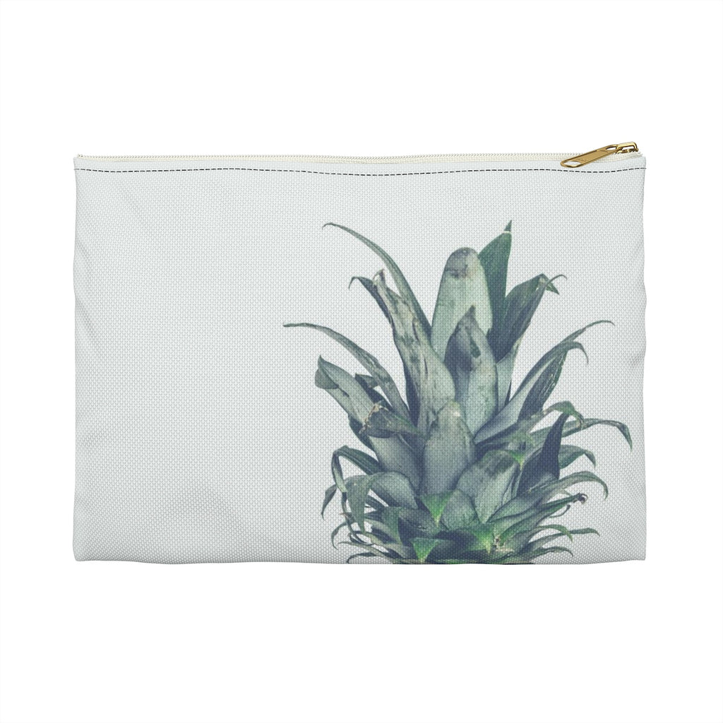 Pineapple Accessory Pouch, Pineapple Cosmetic Bag, Pineapple Pouch, Cosmetic Bag, Zipper Pouch, Pencil Case - jewelry-by-meesh