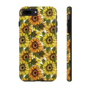 Sunflower iPhone Case