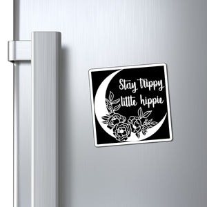Stay Trippy Little Hippie Magnet