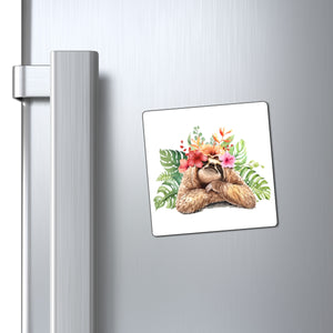 Tropical Sloth Magnet