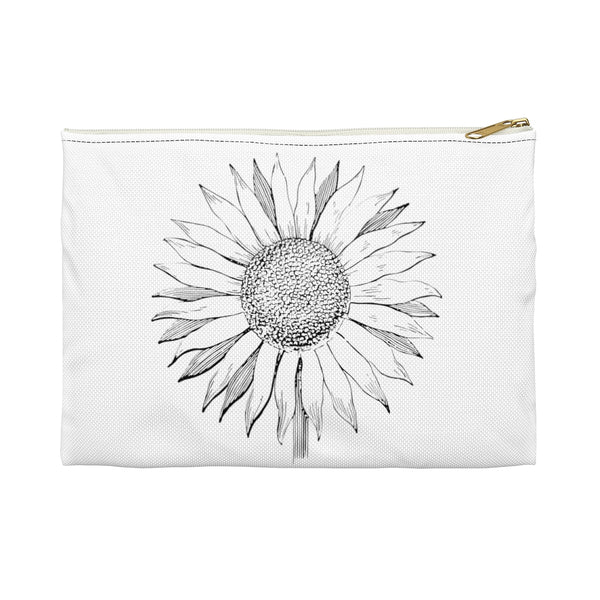 Sunflower Accessory Pouch - jewelry-by-meesh