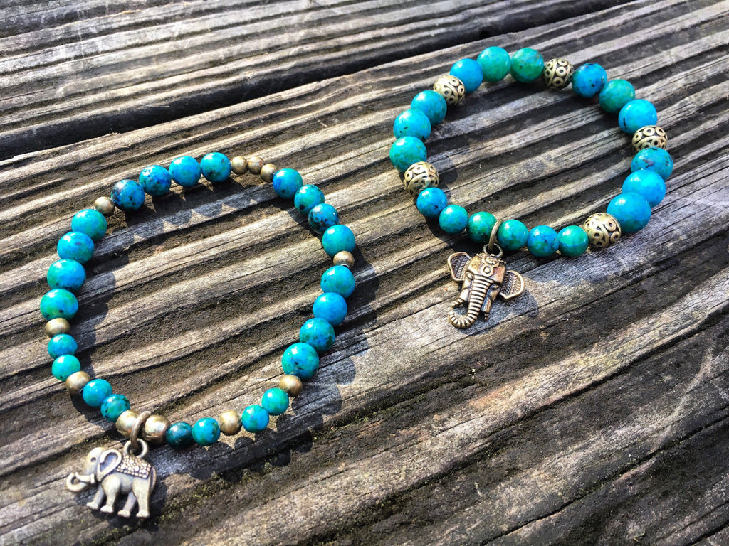 Elephant Charm Bracelet Set - jewelry-by-meesh
