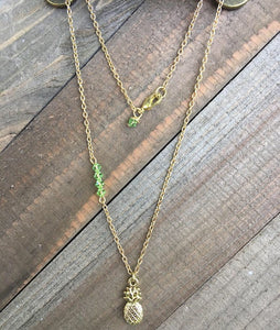 Pineapple Peridot Necklace - jewelry-by-meesh