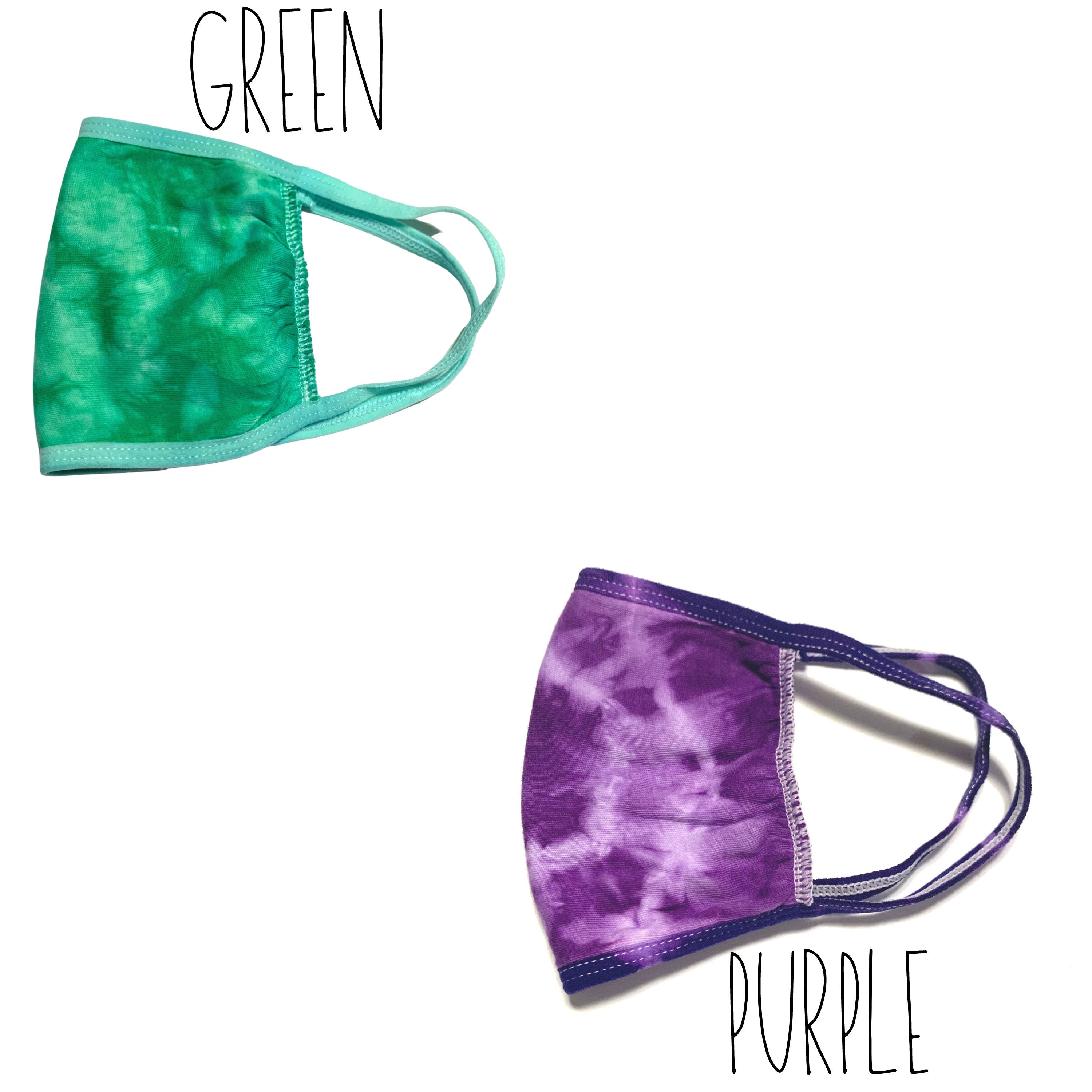 Tie Dye Face Mask, Washable Tie-Dye Mask, Reusable Tie-Dye Face Mask, 100% Cotton Face Mask, Tie-Dye Mask, Tie-Dye Cotton Face Mask,