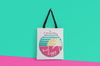 Don't Worry Beach Happy Tote Bag