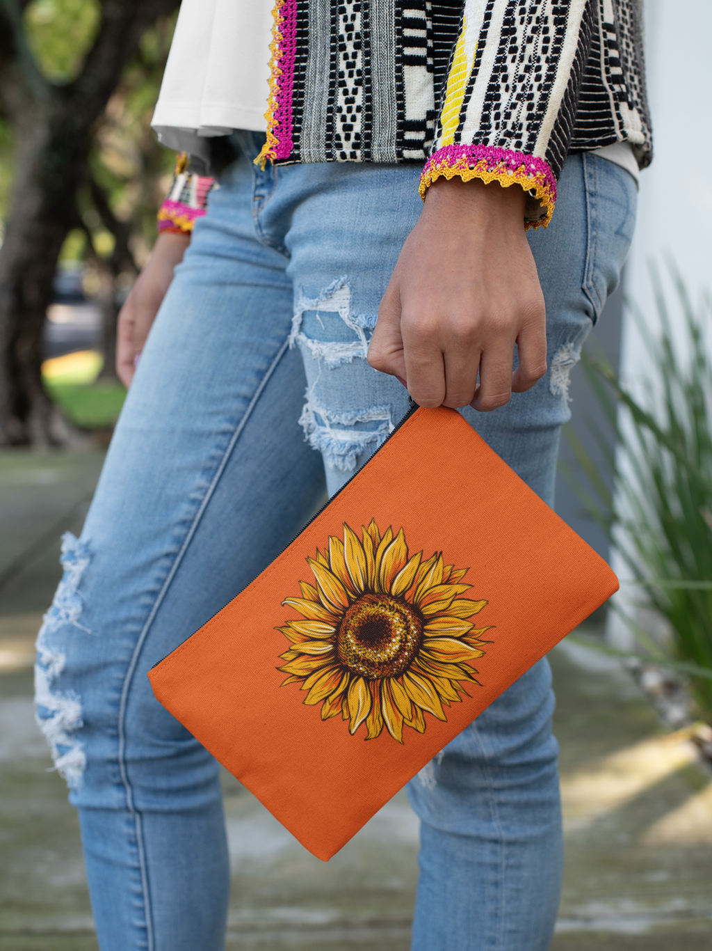 Sunflower Accessory Pouch