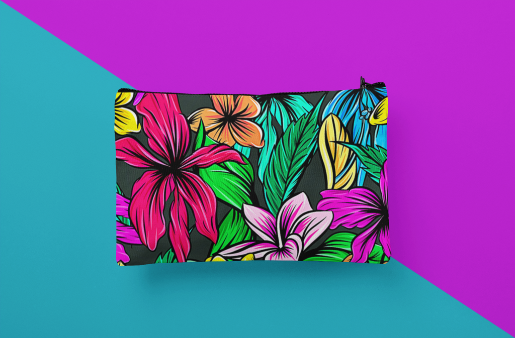 Tropical Accessory Pouch