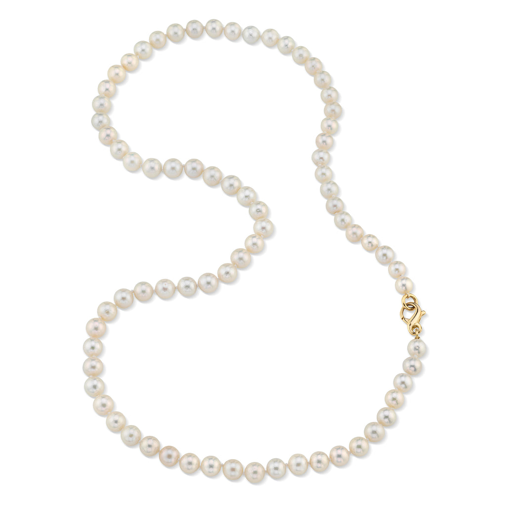 PASADENA PEARLS with 18K gold clasp