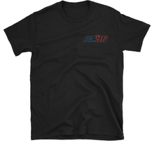 Adult Blue/Red Logo RL96 T-Shirt