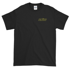Adult Yellow Logo Star 96 Black Bike T-Shirt