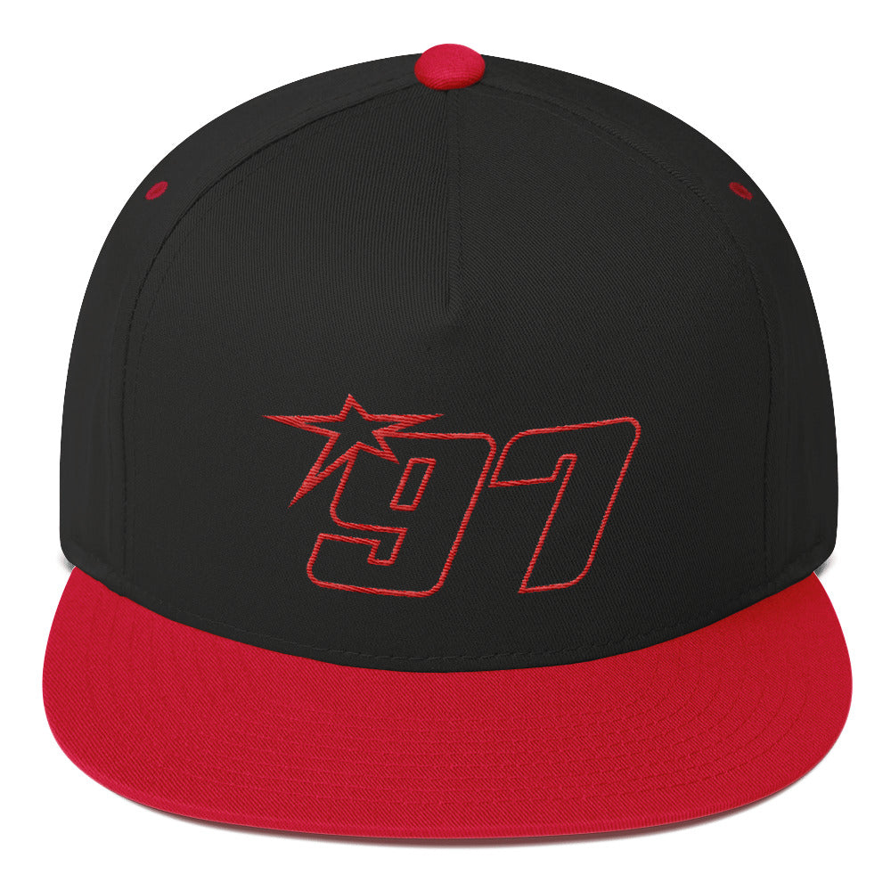 97 Red Thread (Redemption) Flat Bill Hat