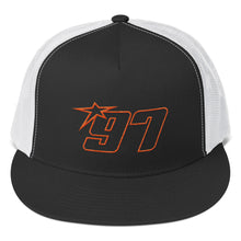 97 Orange Thread Trucker Hat