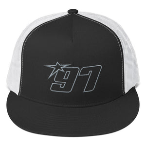 97 Grey Thread Trucker Hat