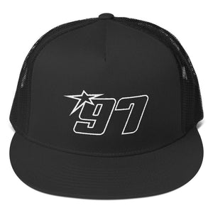 97 White Thread Trucker Hat