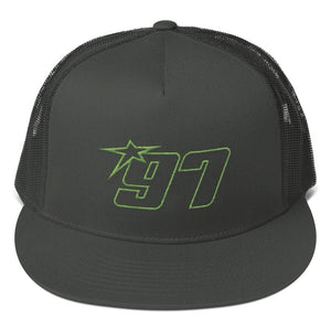 97 Green Thread Trucker Hat