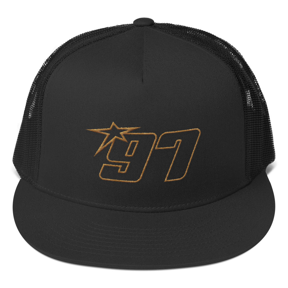 97 Old Gold Thread Trucker Hat