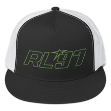 RL97 Green Thread Trucker Hat