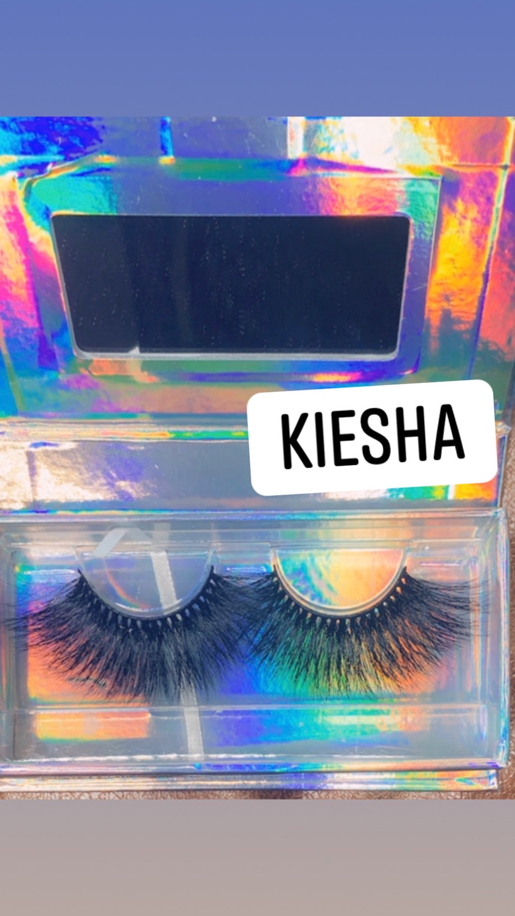Kiesha 25MM STRIP LASH Minks