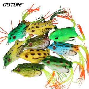 Goture 9pcs or 18pcs Surface/Floating Frog Fishing Lure - fisher lures