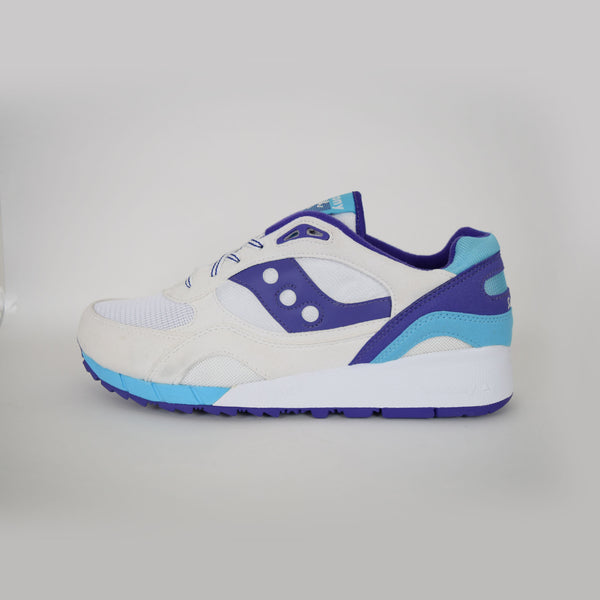 Saucony Shadow 6000 White Purple/Blue