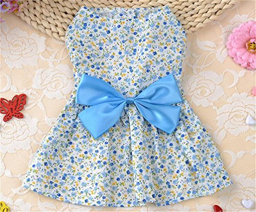 Puppy Dog Floral Dress