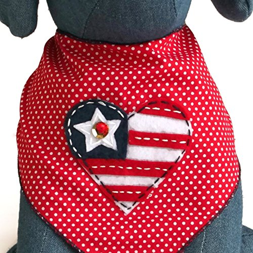 Dog Bandanas for 4th of July