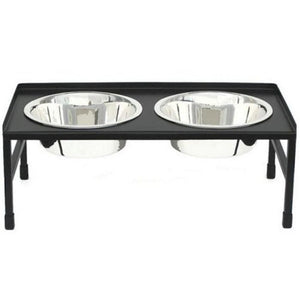 Tray Top Elevated Dog Bowl