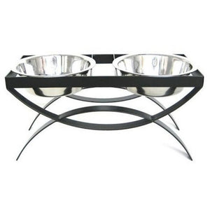 SeeSaw Double Elevated Dog Bowl