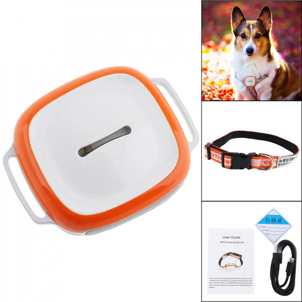 GT011 Waterproof Mini GPS Tracker Locator with WIFI Real time GSM GPRS Tracking Device for Dogs