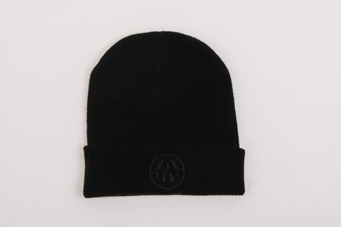ATG Black on Black Beanie
