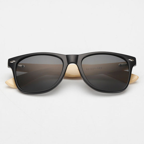 Photochromic Bambo-Framed Sunglasses