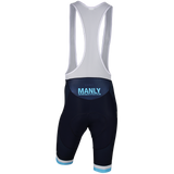 MWCC Men's Premium Seamless Bib Shorts (Aero Match) (Race Cut L-XL)