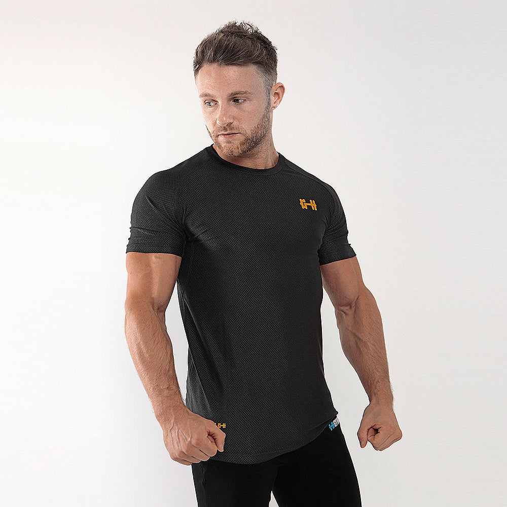 Gymheadz Quadrant Black Edition T-Shirt