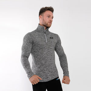 Gymheadz Optima Bio-Knit Pullover - Grey Marl