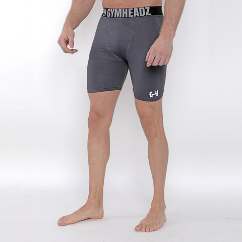 Gymheadz Base Layer Shorts - Graphite