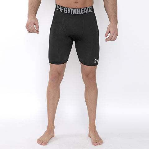 Gymheadz Base Layer Shorts - Black