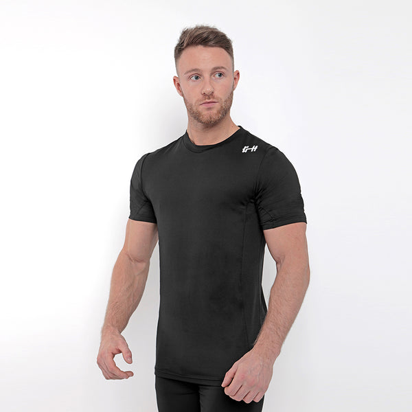 Gymheadz Base Layer T-Shirt - Black