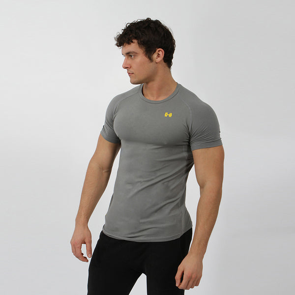 Gymheadz Original Stretch T-Shirt - Graphite
