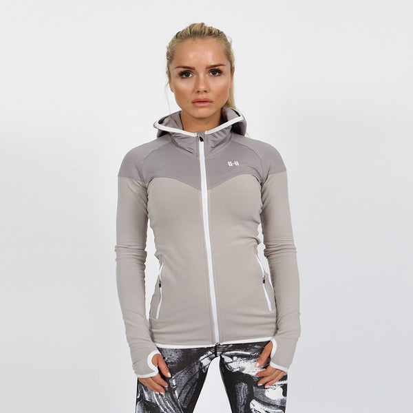 Gymheadz Lite-Tec Hoodie - Heather Grey