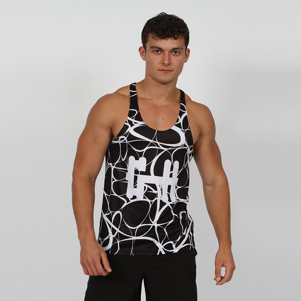 Gymheadz Breath-Lite Core Vest - Black