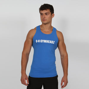 Gymheadz Ikon Tank Top - Steel Blue