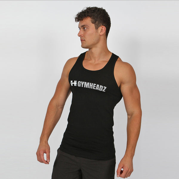 Gymheadz Ikon Tank Top - Black